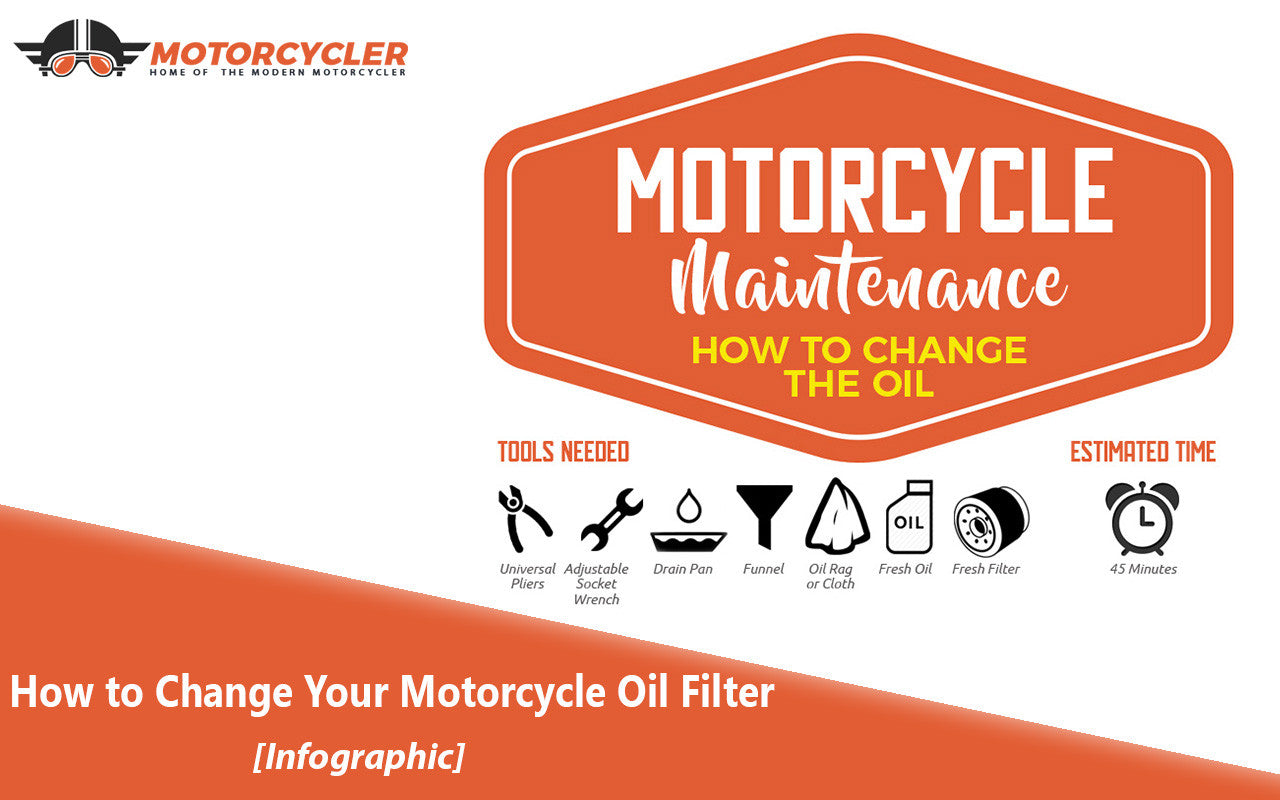 How to Change Your Motorcycle Oil Filter [Infographic]
