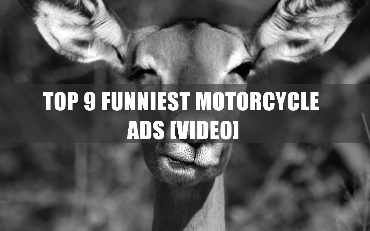 funny motorcycle r  Top 9 Funniest Motorcycle Ads [Video] – Motorcycler.com