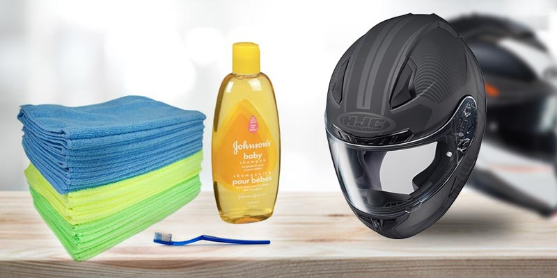 How to Clean a Motorcycle Helmets