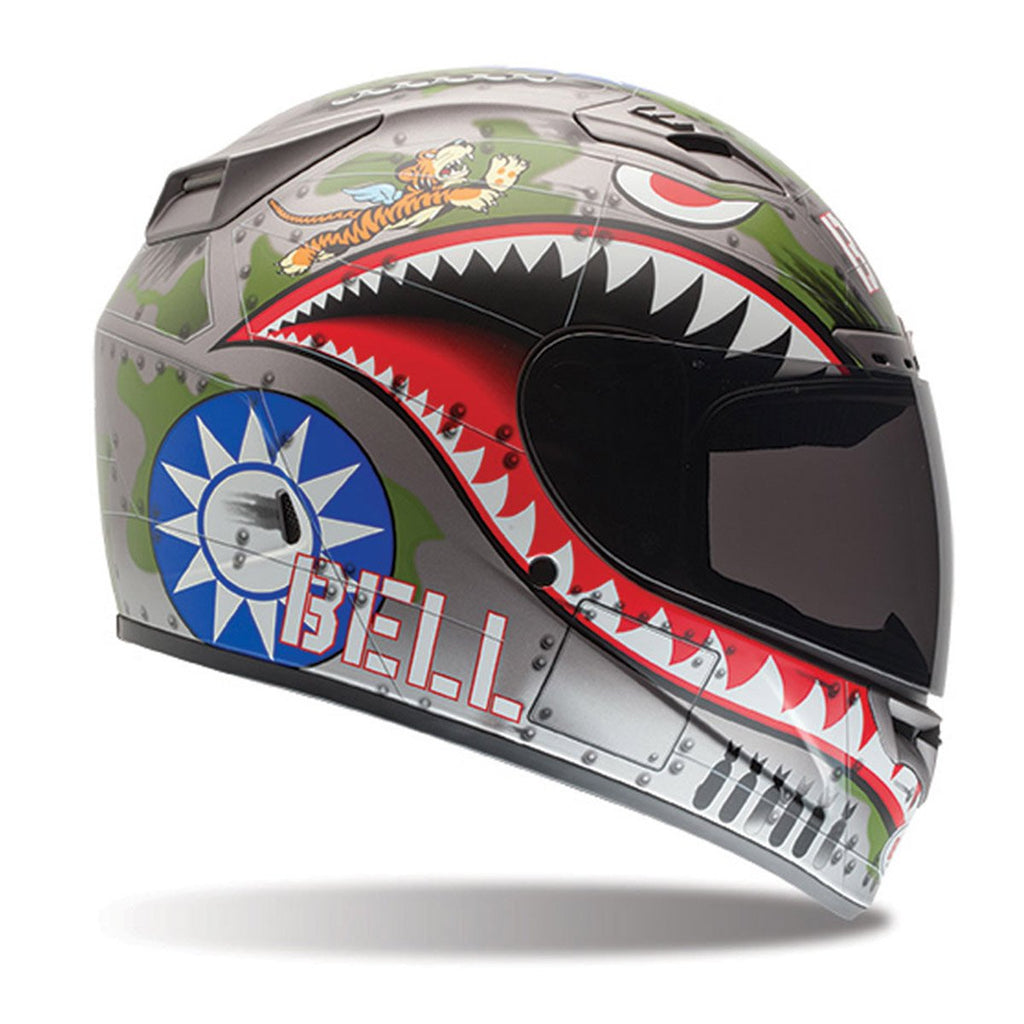 Bell Vortex Flying Tiger Full Face Helmet