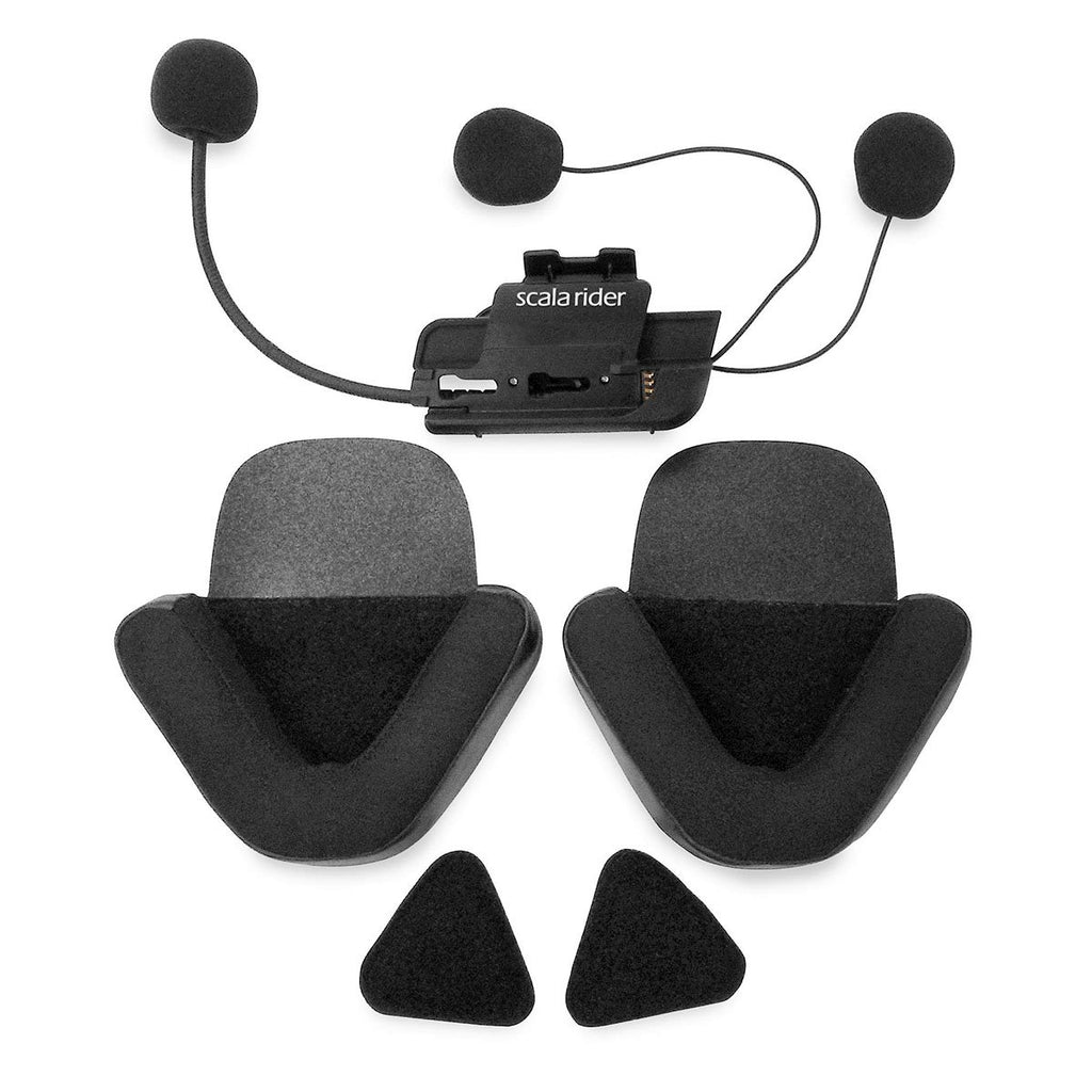 Cardo Scala Rider Q1/Q3 Half Helmet Audio Kit