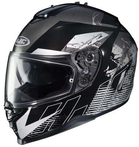 HJC Helmets IS-17 Blur Full-Face Street Helmet