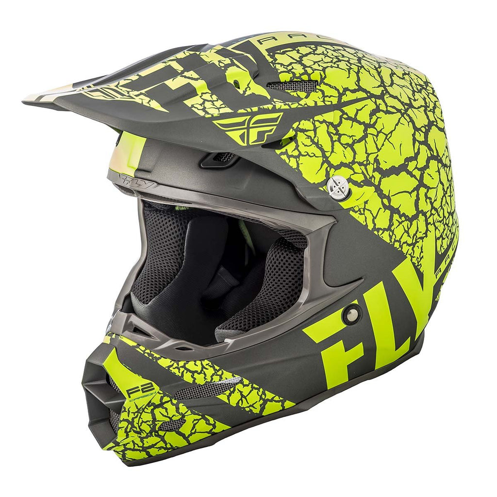 Fly Racing F2 Carbon Fracture Motocross Helmet