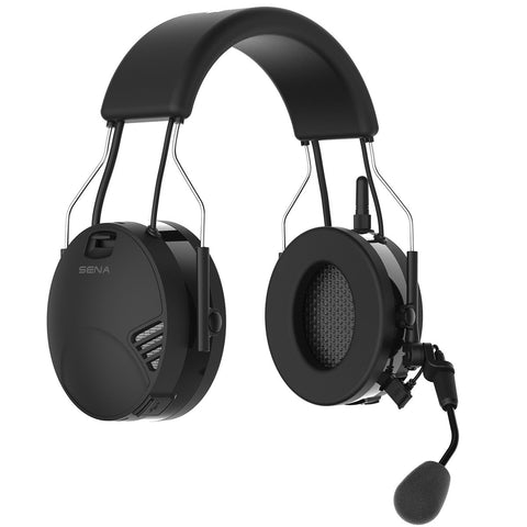 Sena Tufftalk Over-the-Head Earmuff with Long-Range Bluetooth Communication