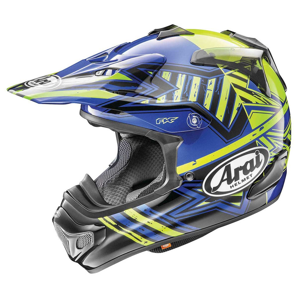 Arai VX-Pro 4 Shooting Star Motocross Helmet