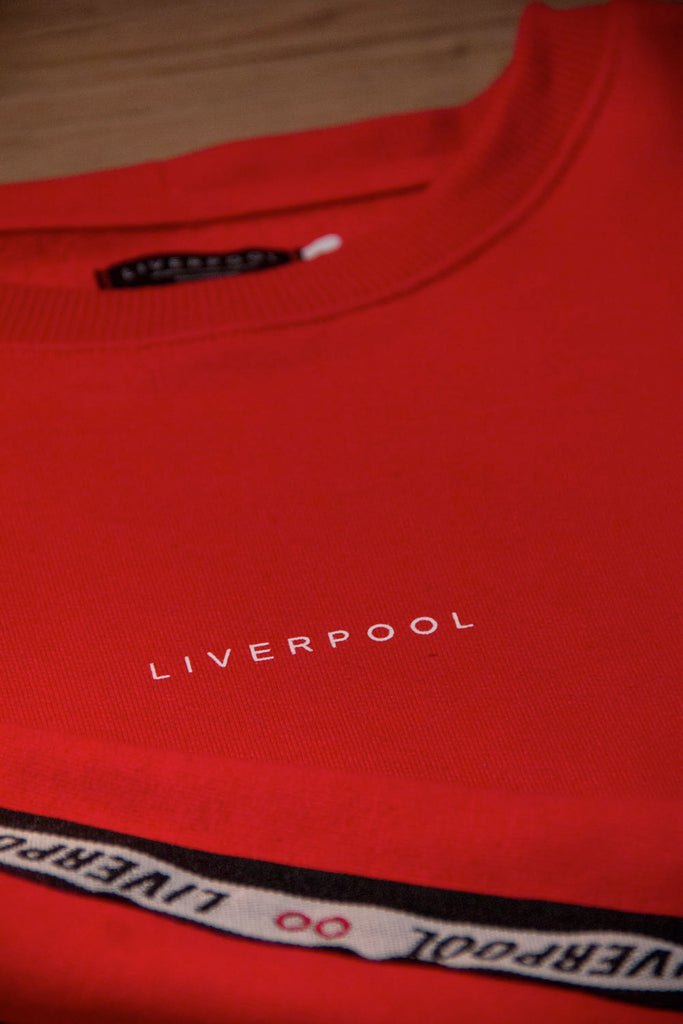 Moletom Oversized Stripe Liverpool