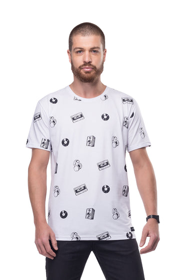 Camiseta All Printed Music Icons