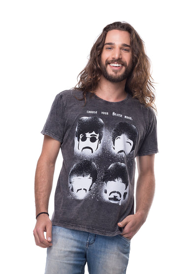 Camiseta Beatles Mood