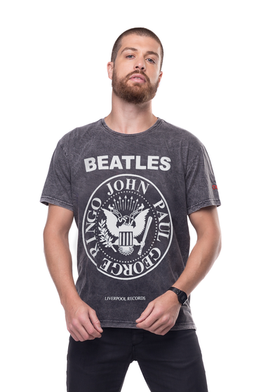 Camiseta Beatles Ramones