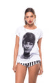 Camiseta Faces Audrey Hepburn
