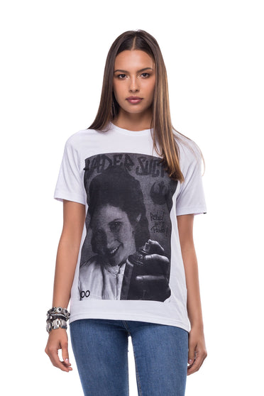 Camiseta Lost Portraits Princesa Leia