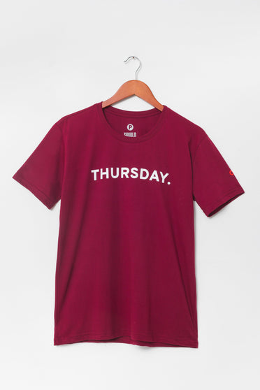 Camiseta Thursday
