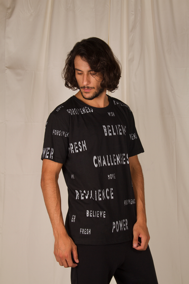 Camiseta All Printed Words
