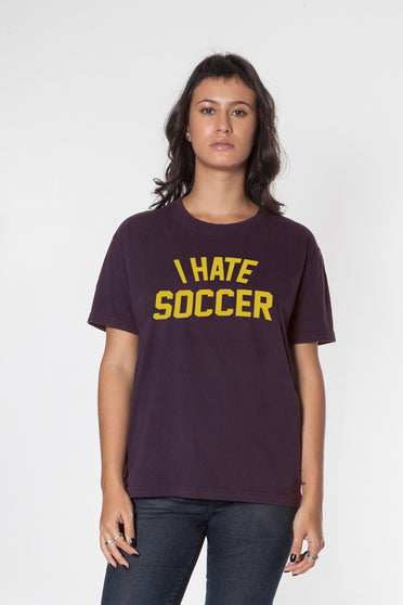 Camiseta I Hate Soccer