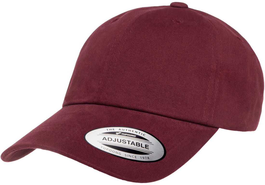 Yupoong® Peached Cotton Twill Dad Cap #6245PT
