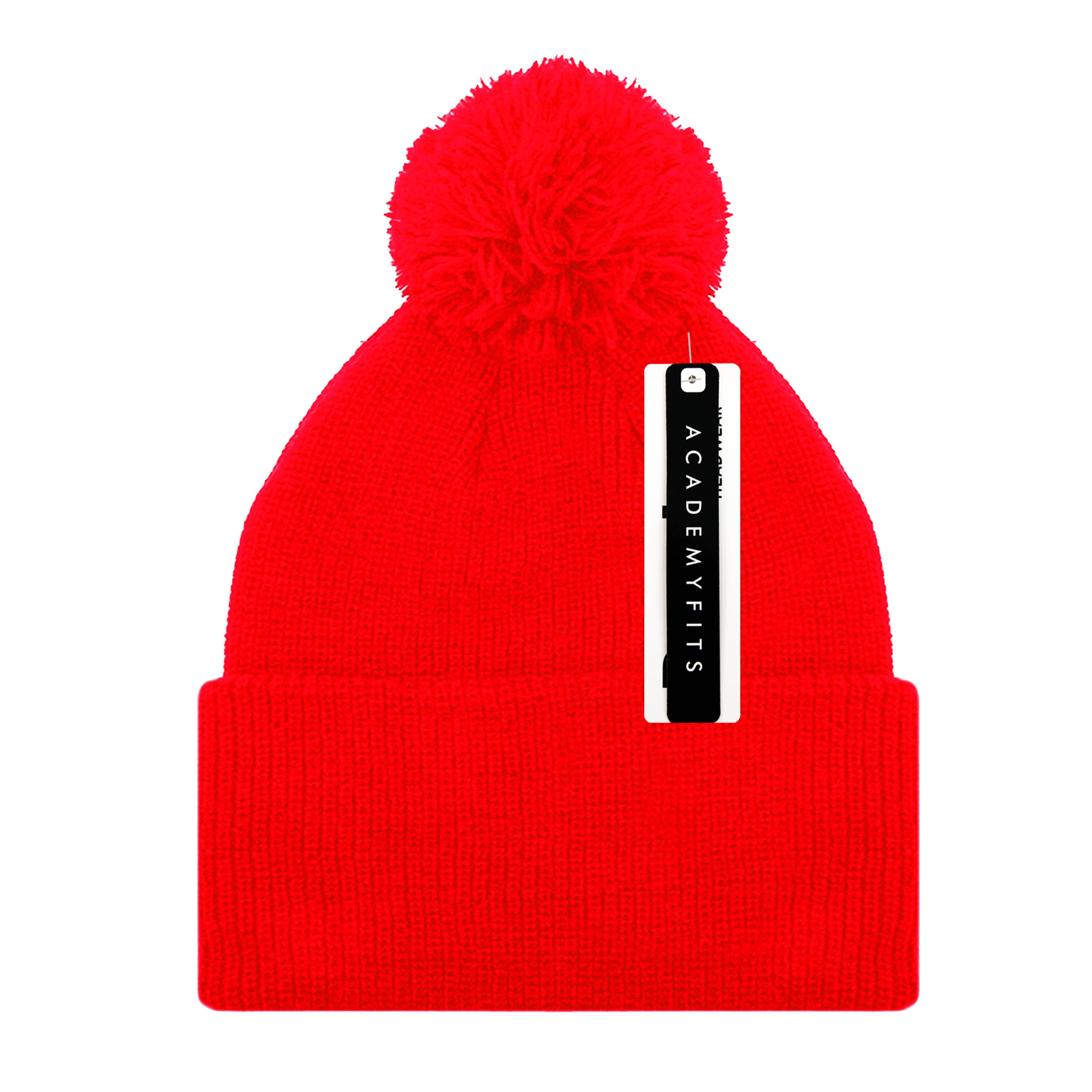 Knit Beanie With Pom Pom Ultra Soft #6013P