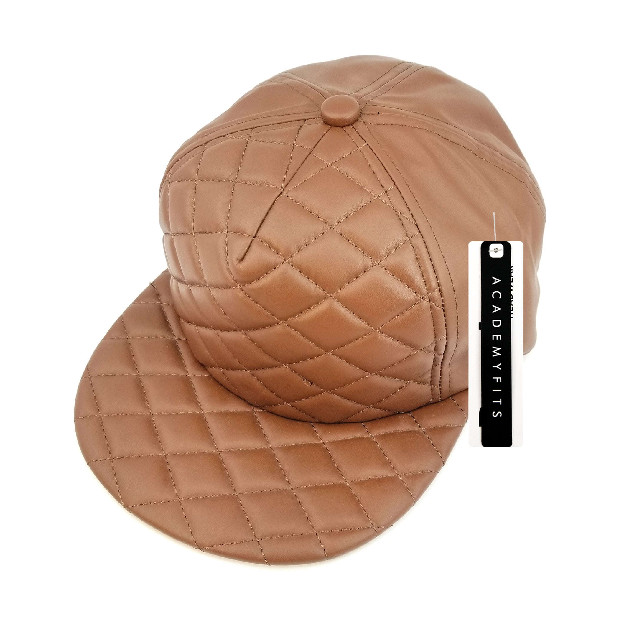 Quilted Foam Strapback #4020