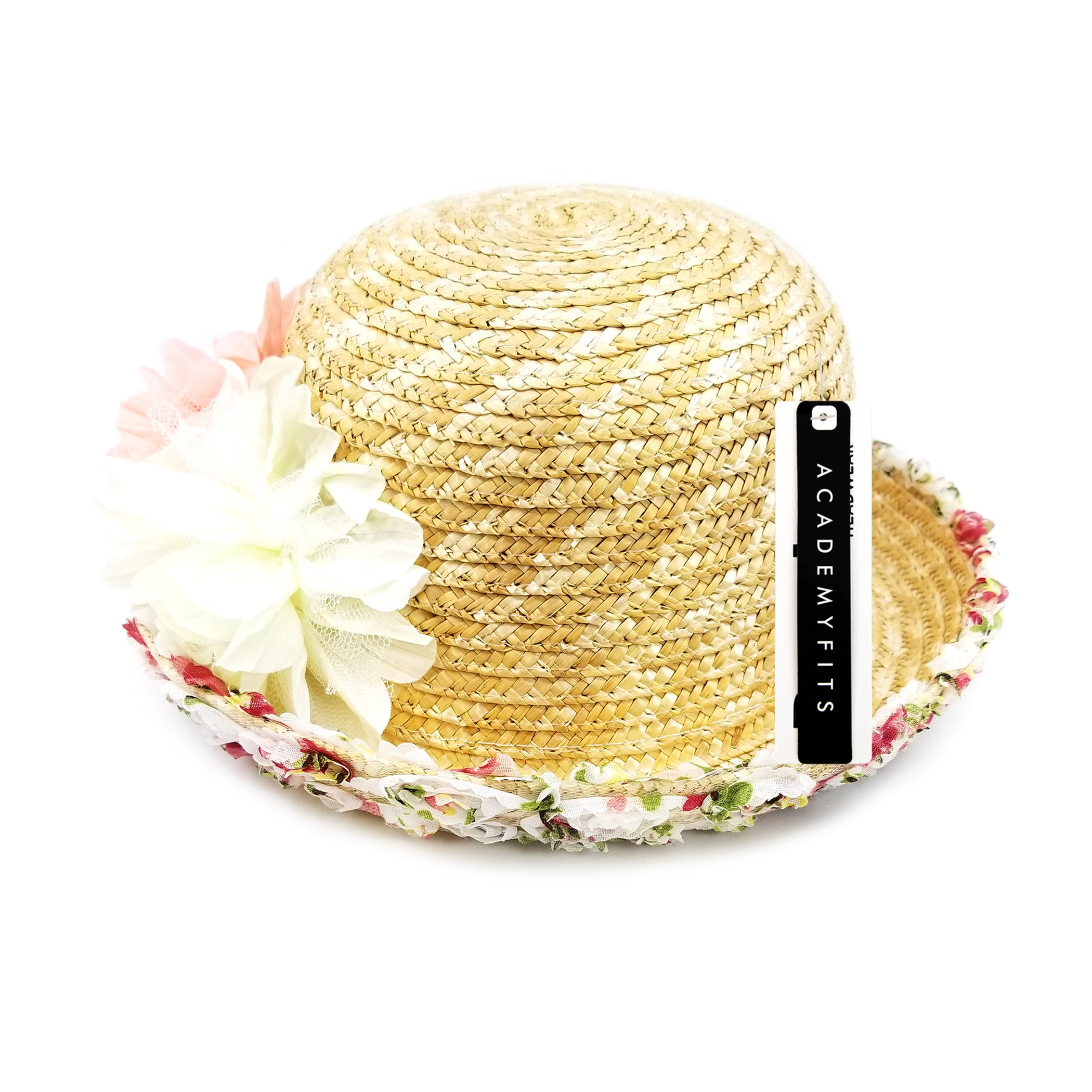 Floral Straw Hat #SS16203