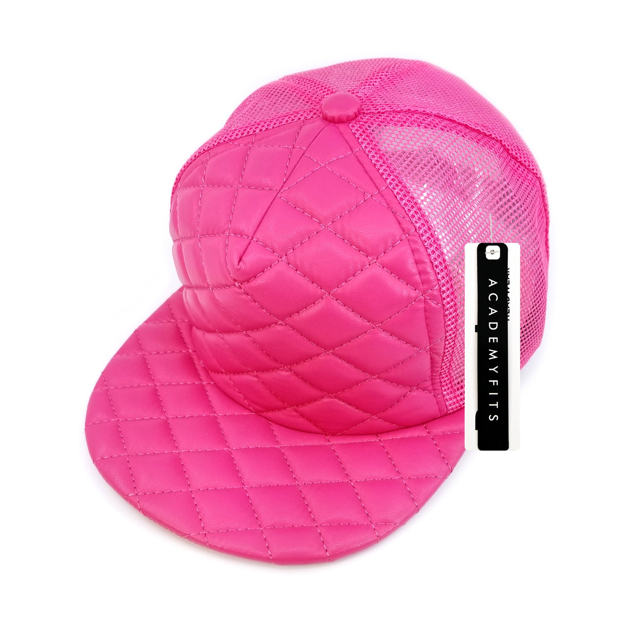 Quilted Foam Trucker Snapback #4027