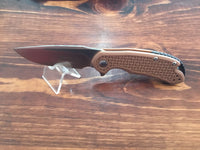 Steel Will Mini Cutjack D2 Tan FRN