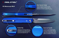 Real Steel G5 Metamorph Intense Blue Version 2
