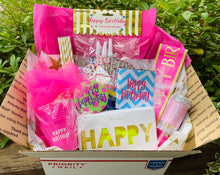 """Birthday Party in a Box"" gift box"