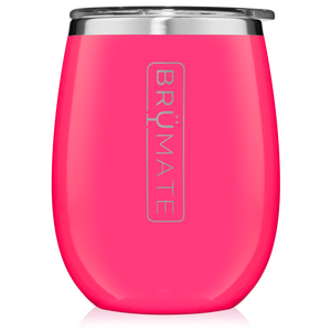 "Brumate- Cocktail Cup ""Neon Pink"""