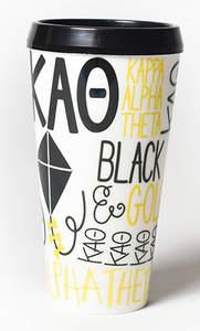 Sorority Flare Tumbler With Lid