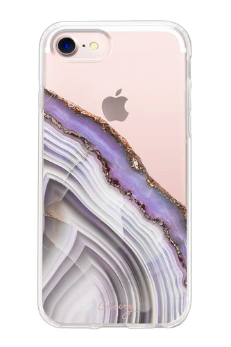 Purple Agate iPhone Case