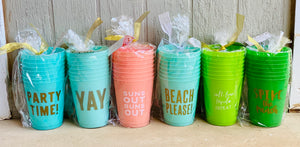 Cocktail Party Cups