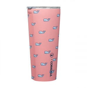 "Corckcicle Vineyard Vines 24 oz. ""Whales"""