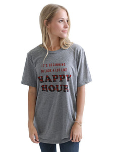 """Happy Hour"" Tee"