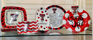 Texas Tech Ceramic Dishes