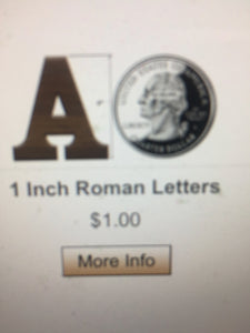 Double Raised Letters