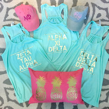 Mint & Gold Sorority Tank