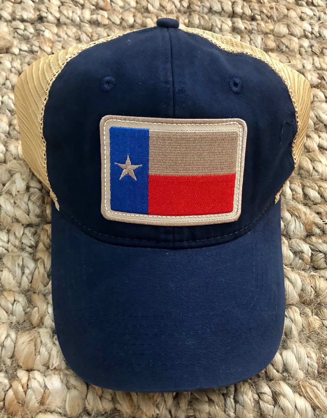 Texas Flag Hat- Navy