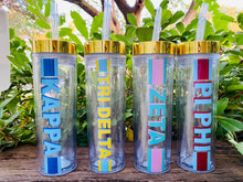 Sorority Stripe Water Bottle