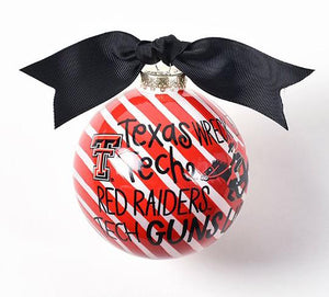 """Guns Up"" Ornament"