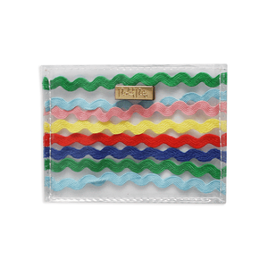"Packed Party ""Makin' Waves"" Ric Rac card holder"
