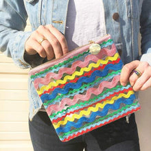 "Packed Party ""Makin' Waves"" Ric Rac pouch"