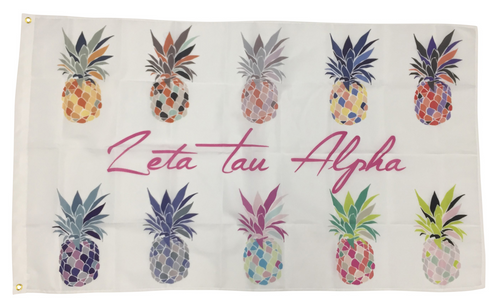Sorority Pineapple Flag- LIMITED EDITION