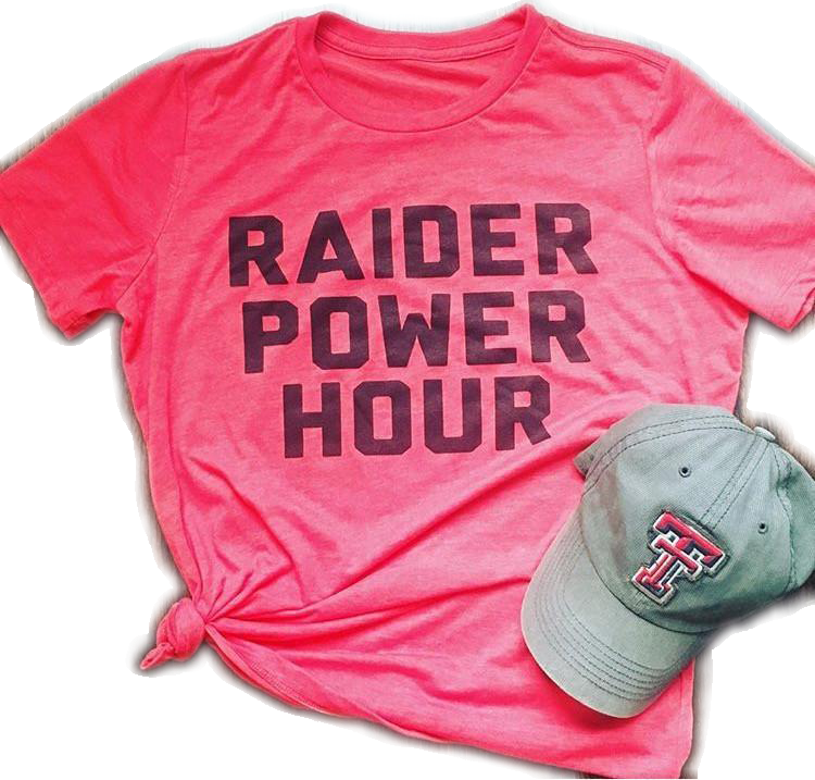 Raider Power Hour Tee
