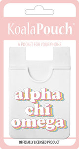 Phone Pouch- Retro Sorority