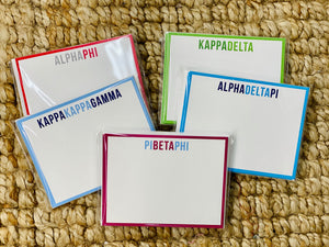 Sorority Notecards
