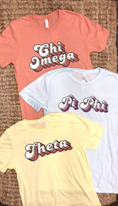 Sorority Retro Tee