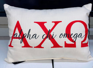 Sorority Accent Pillows