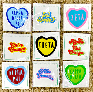 Sorority Laptop Stickers