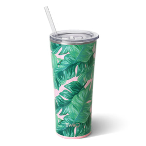 "Swig- ""Palm Springs"" Straw Cup"