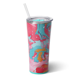 "Swig- ""Cotton Candy"" Straw Cup"