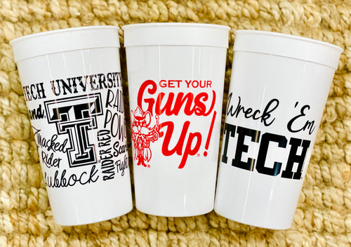 Texas Tech Stadium Tumbler